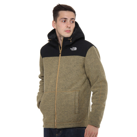 The North Face - Rugged Zermatt Full Zip-Up Hoodie
