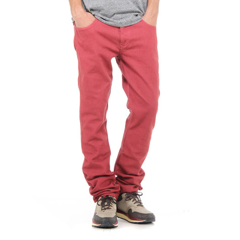 Iriedaily - Slim Shot Color Denim Pants