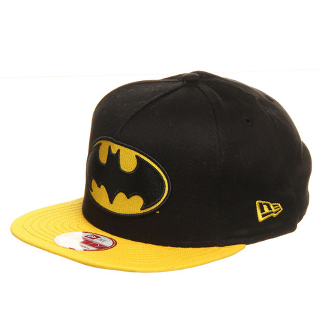 New Era x DC Comics - Batman Basic Badge Snapback Cap