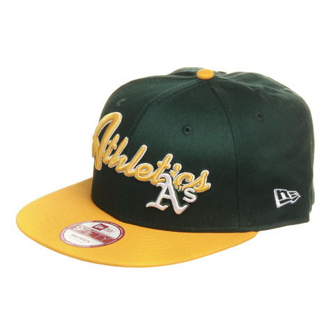 New Era - Oakland Athletics MLB Super Script Snapback Cap