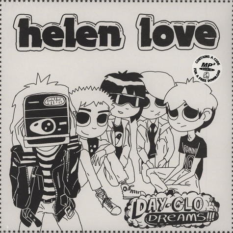 Helen Love - Day-Glo Dreams