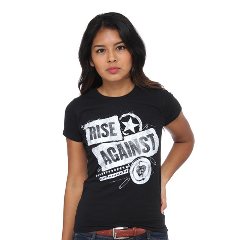 Rise Against - Patched Up Women T-Shirt