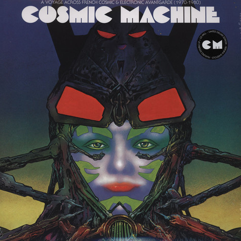 V.A. - Cosmic Machine: A Voyage Across French Cosmic & Electronic Avantgarde 1970-1980