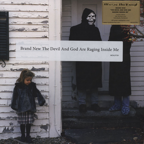 Brand New - The Devil And God Are Raging Red Vinyl Edition