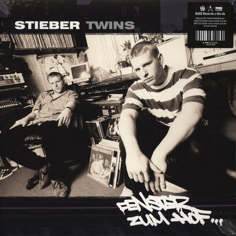 Stieber Twins - Fenster Zum Hof ... MZEE Records x hhv.de Black Vinyl Edition
