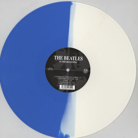 Beatles, The - In The Beginning Whiet / Blue Vinyl Edition