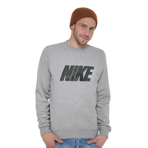 Nike - Woodland Camo Club Crew Sweater