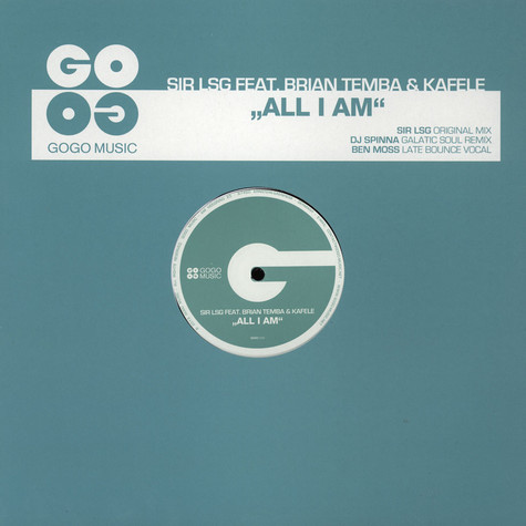 Sir Lsg - All I Am