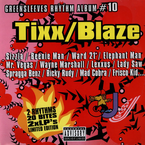 Greensleeves Rhythm Album #10 - Tixx / blaze
