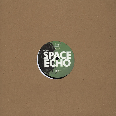 Space Echo / Manhooker - Soul Power / Pushin & Shovin