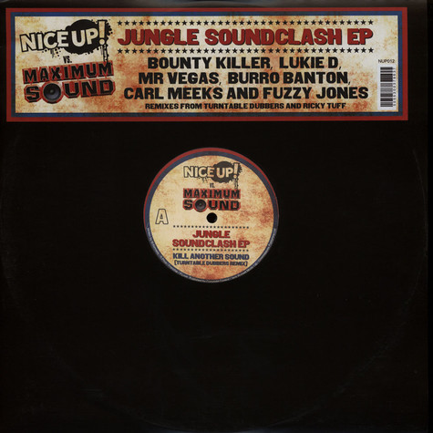 NICE UP! vs Maximum Sound - Jungle Soundclash