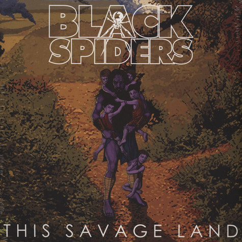 Black Spiders - This Savage Land Golden Vinyl Edition