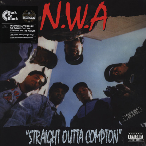 NWA - Straight Outta Compton Back To Black Edition