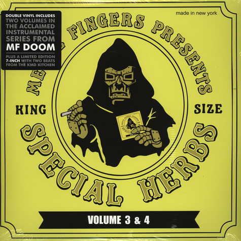 MF Doom - Special Herbs Volume 3 & 4