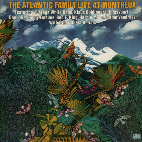 V.A. - The Atlantic Family Live At Montreux