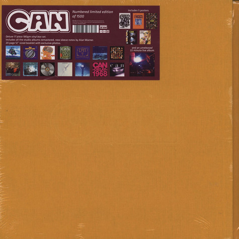 Can - Can Catalogue Vinyl Box Set