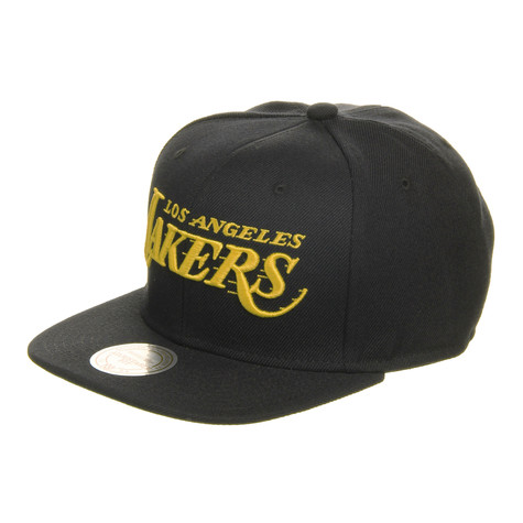 Mitchell & Ness - LA Lakers NBA Wool Solid 2 Snapback Cap
