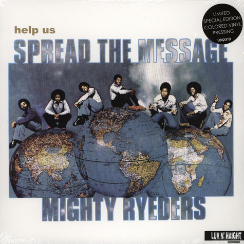 Mighty Ryeders, The - Help Us Spread The Message White Vinyl Edition