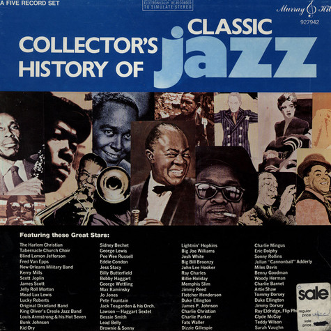 V.A. - Collector's History Of Classic Jazz