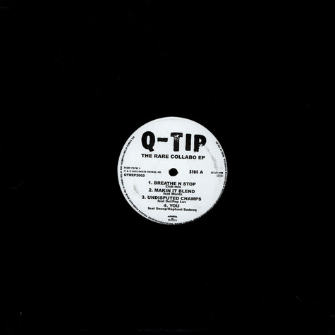 Q-Tip - The Rare Collabo EP