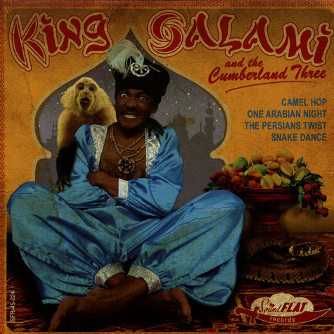 King Salami & The Cumberland 3 - GoGo-Riental EP