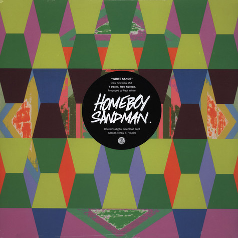 Homeboy Sandman - White Sands EP