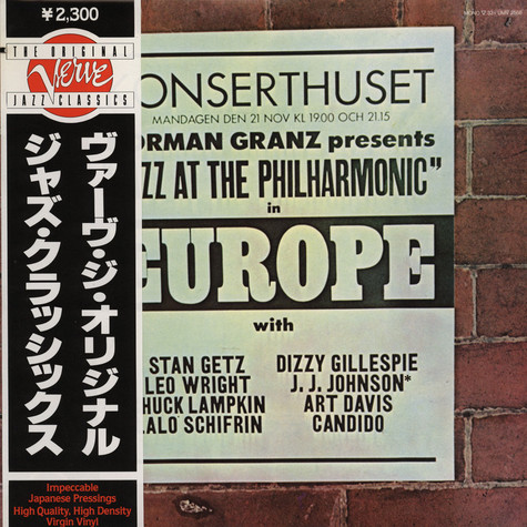 V.A. - Norman Granz Presents Jazz At The Philharmonic In  Europe
