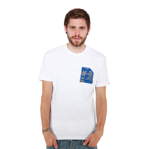 Akomplice - Blue Floral Pocket T-Shirt