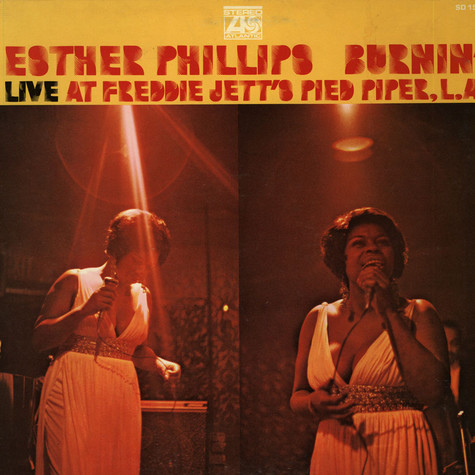 Esther Phillips - Burnin (Live At Freddie Jett's Pied Piper, L.A.)