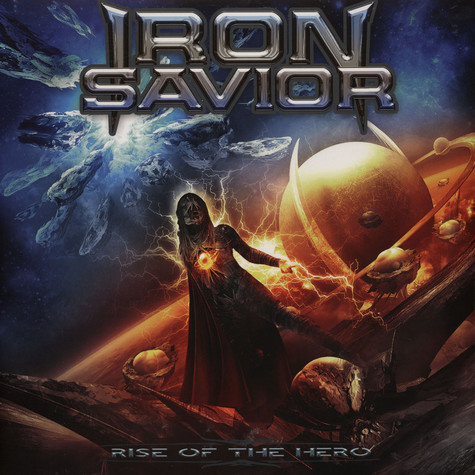 Iron Savior - Rise Of The Hero Black Vinyl Edition