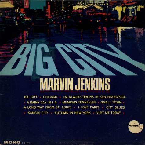 Marvin Jenkins - Big City