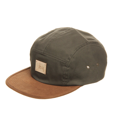Stüssy - Leather Brim Camp Cap