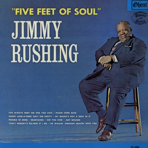 Jimmy Rushing - Five Feet Of Soul