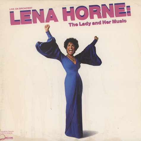 Lena Horne - Live On Broadway Lena Horne: The Lady And Her Music