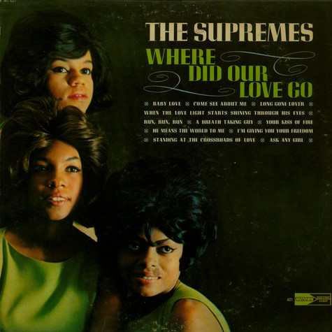 Supremes, The - Where Did Our Love Go?