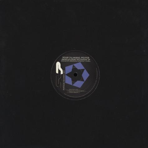 Dolby D & Mikael Pfeiffer / A.Paul / Andreas Kraemer / Niereich - Physical Records 09