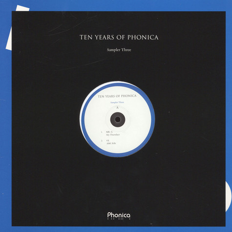 V.A. - Ten Years Of Phonica - Sampler Three
