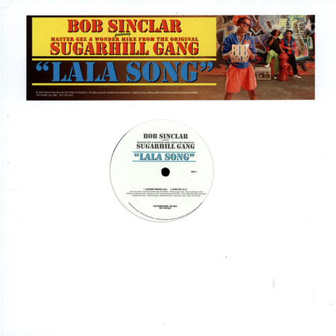 Bob Sinclar - Lala Song feat. Master Gee & Wonder Mike