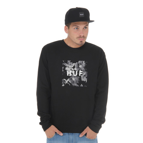 HUF - Box Logo Fill Floral Sweater