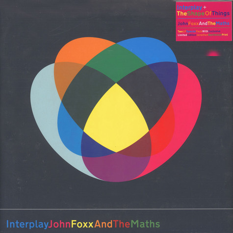 John Foxx & The Maths - Interplay / The Shape Of Things
