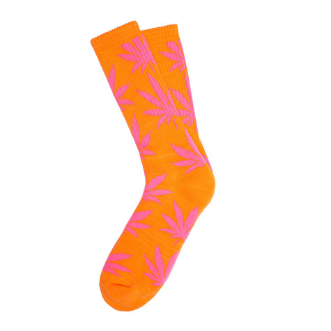 HUF - Glow In The Dark Plantlife Crew Socks