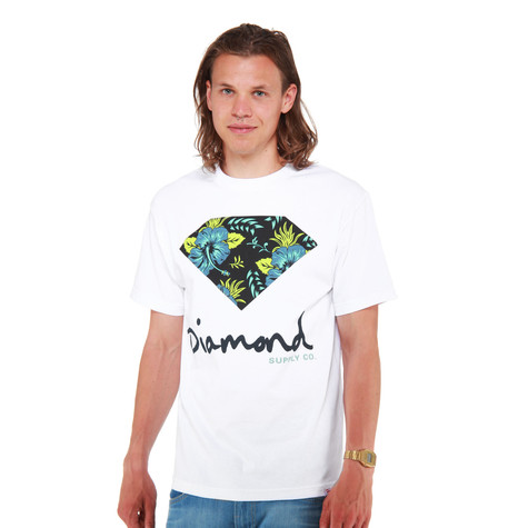 Diamond Supply Co. - Diamond Floral T-Shirt