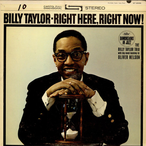 Billy Taylor - Right Here, Right Now!