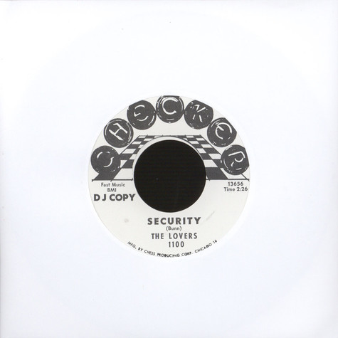 Lovers, The / Ko Ko Taylor - Security / Wang Dang Doodle