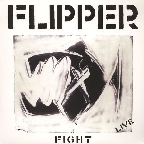 Flipper - Fight Live Black Vinyl Edition