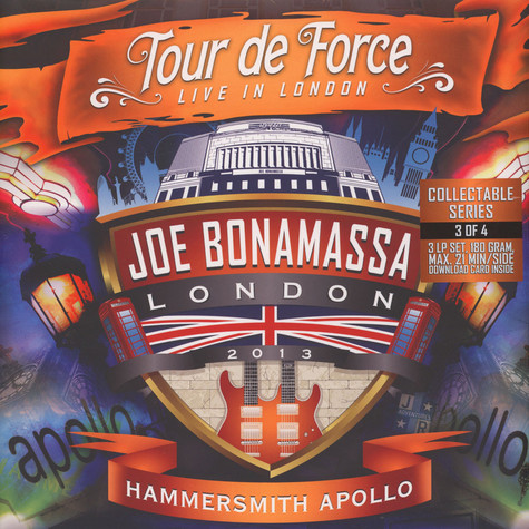 Joe Bonamassa - Tour De Force - Hammersmith Apollo