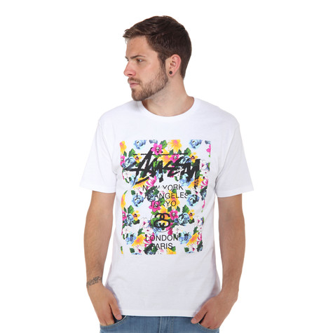 Stüssy - WT Flower Block S/S T-Shirt