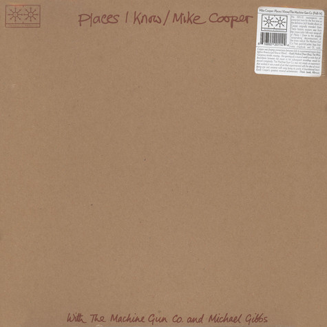 Mike Cooper - Places I Know / The Machine Gun Co. With Mike Cooper
