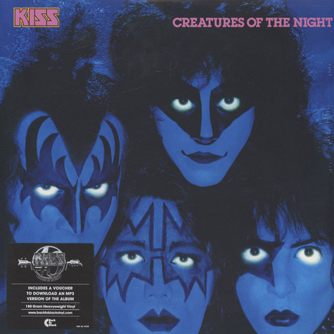 Kiss - Creatures Of The Night Back To Black Edition