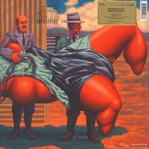 Mars Volta, The - Amputechture Red / Gold Vinyl Edition